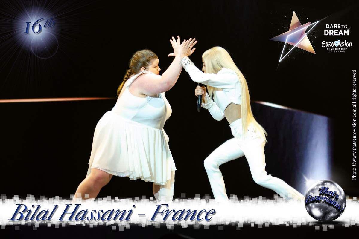 France 2019 - Bilal Hassani - 16th