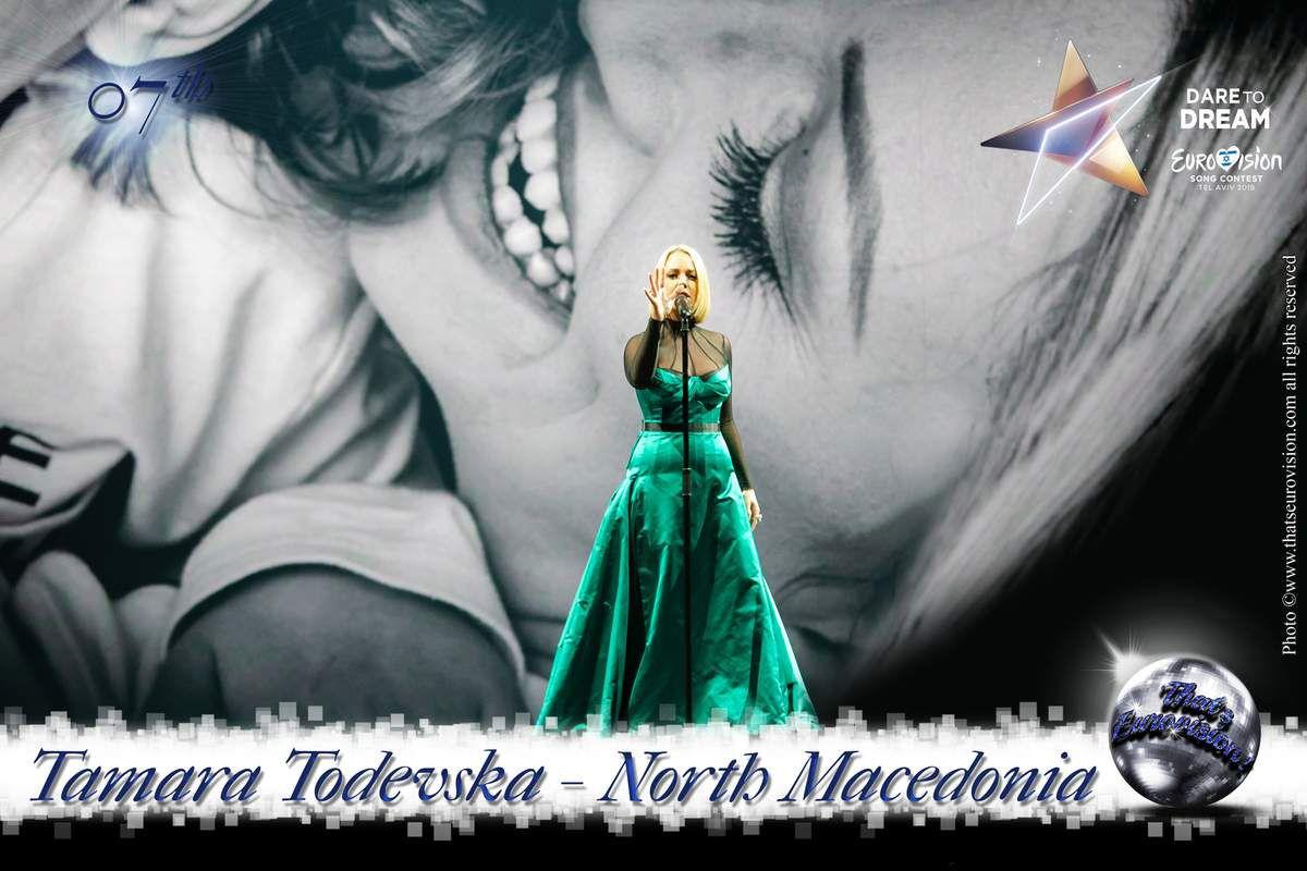 North Macedonia 2019 - Tamara Todevska - 7th
