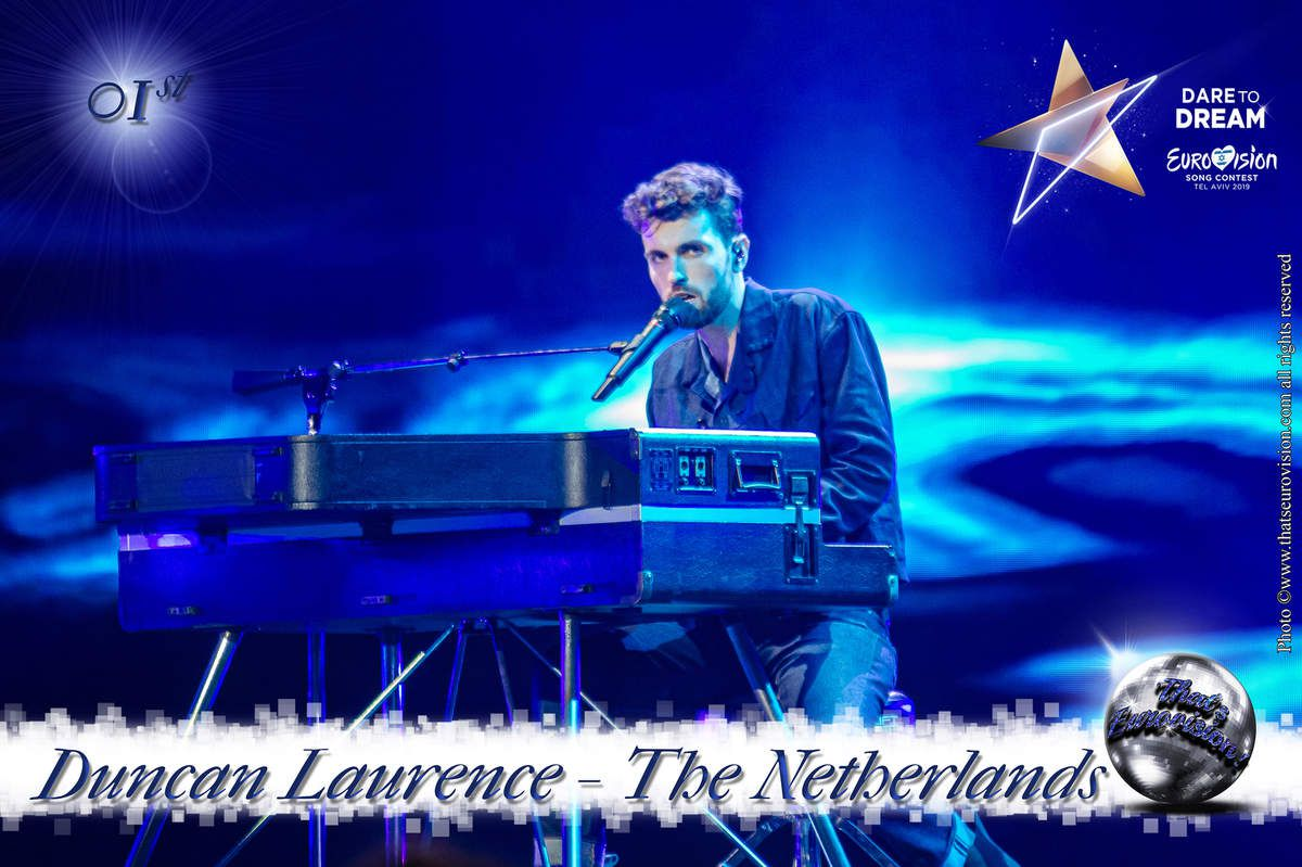 The Netherlands 2019 - Duncan Laurence - 1st