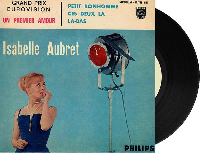 """1st - France - Isabelle Aubret """"Un Premier Amour"""" (26 points)"""