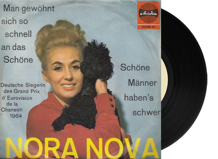 """13th - Germany - Nora Nova """"Man gewöhnt sich so schnell an das Schöne"""" (0 point)"""