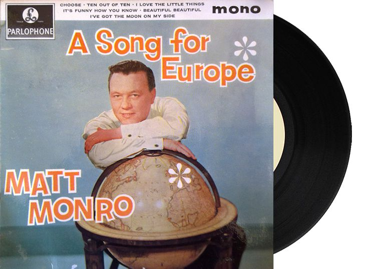 "2nd - United Kingdom - Matt Monro ""I Love The Little Things"" (17 points)"