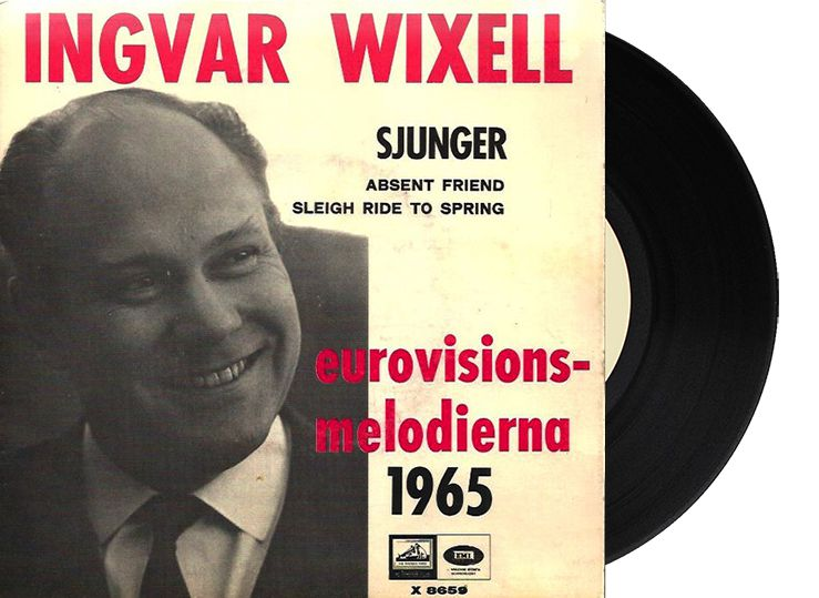 """10th - Sweden - Ingvar Wixell """"Absent friend"""" (6 points)"""