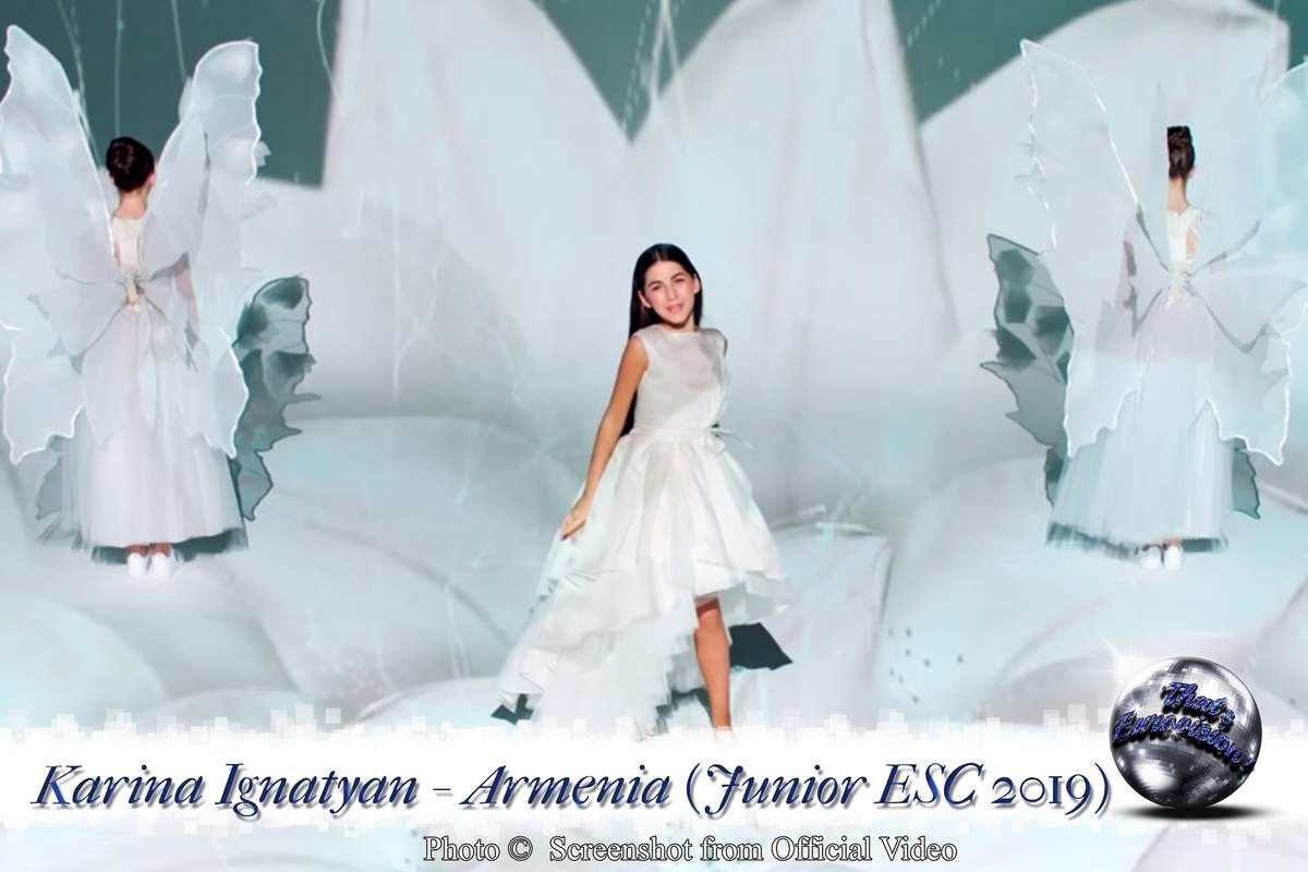 Armenia - Karina Ignatyan - Colours Of Your Dream (Junior ESC 2019)