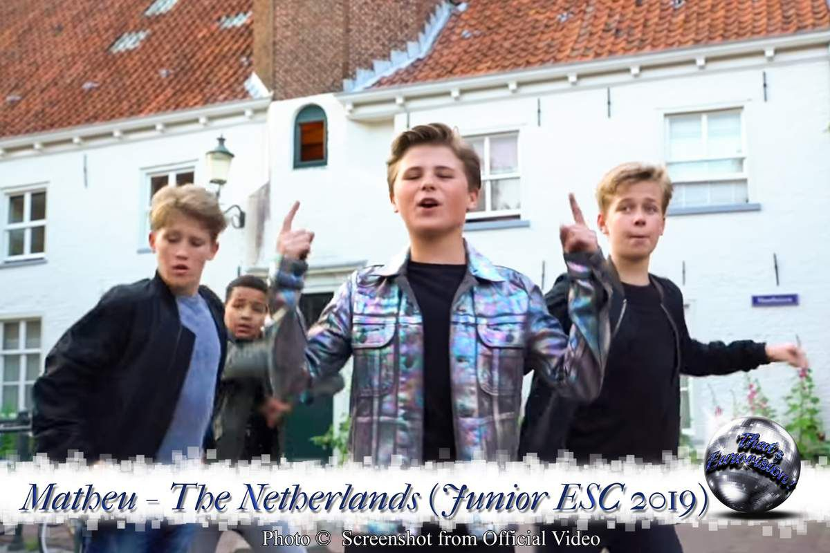 The Netherlands - Matheu - Dans Met Jou (Junior ESC 2019)