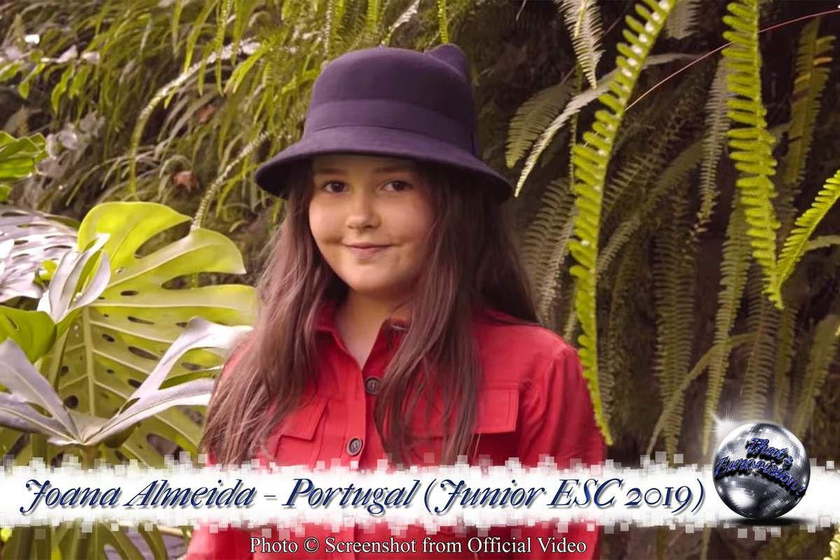 Portugal - Joana Almeida - Vem Comigo  (Junior ESC 2019)