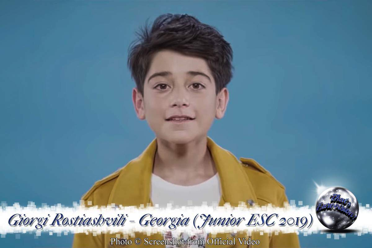 Georgia - Giorgi Rostiashvili - We Need Love (Junior ESC 2019)