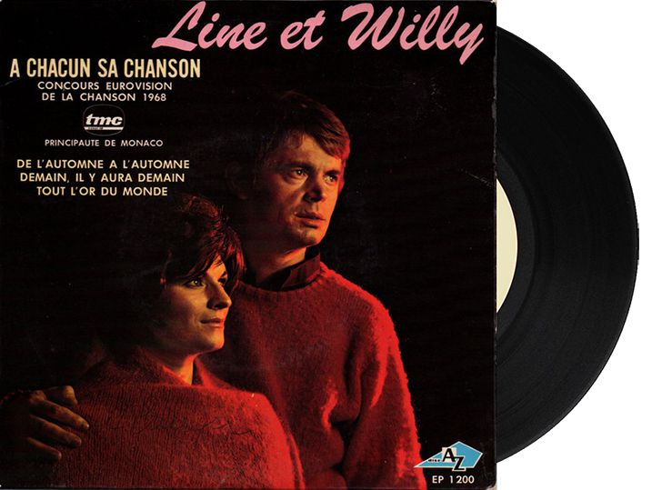 """7th - Monaco - Line & Willy """"A Chacun Sa Chanson"""" (8 points)"""