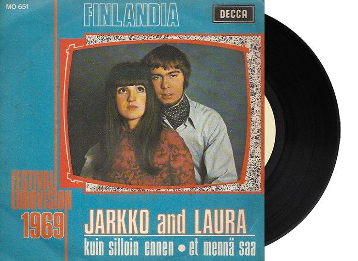 """12th - Finland - Jarkko & Laura """"Kuin silloin ennen"""" (6 points)"""