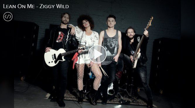 "Ziggy Wild ""Lean On Me"""