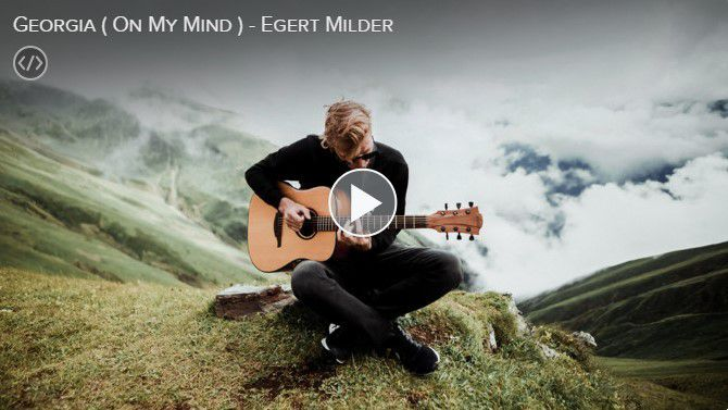 "Egert Milder ""Georgia (On My Mind)"""