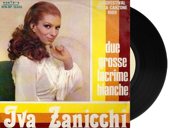 "13th - Italy - Iva Zanicchi ""Due grosse lacrime bianche"" (5 points)"