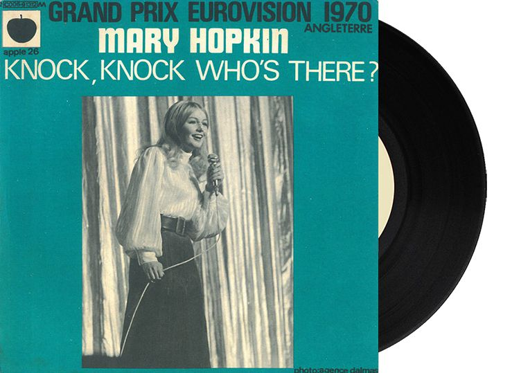 "2nd - United Kingdom - Mary Hopkin ""Knock, Knock Who's There?"" (26 points)"