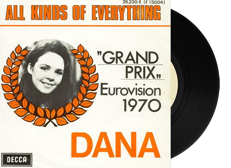"1st - Ireland - Dana ""All Kind of Everything"" (32 points)"