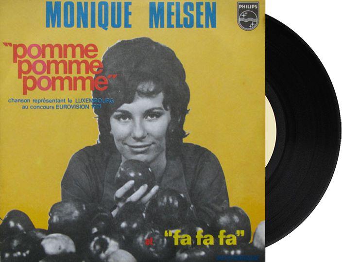 """13th - Luxembourg - Monique Melsen """" Pomme, Pomme, Pomme"""" (70 points)"""