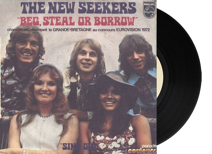 """2nd - United Kingdom - The New Seekers """"Beg, Steal or Borrow"""" (114 points)"""