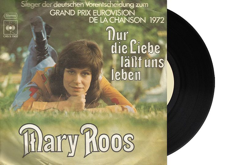 """3rd - Germany - Mary Roos """"Nur die Liebe läßt uns leben"""" (107 points)"""