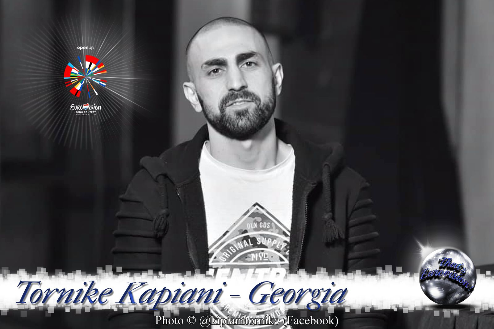 "Georgia 2020 - Tornike Kipiani ""Take Me As I Am"""