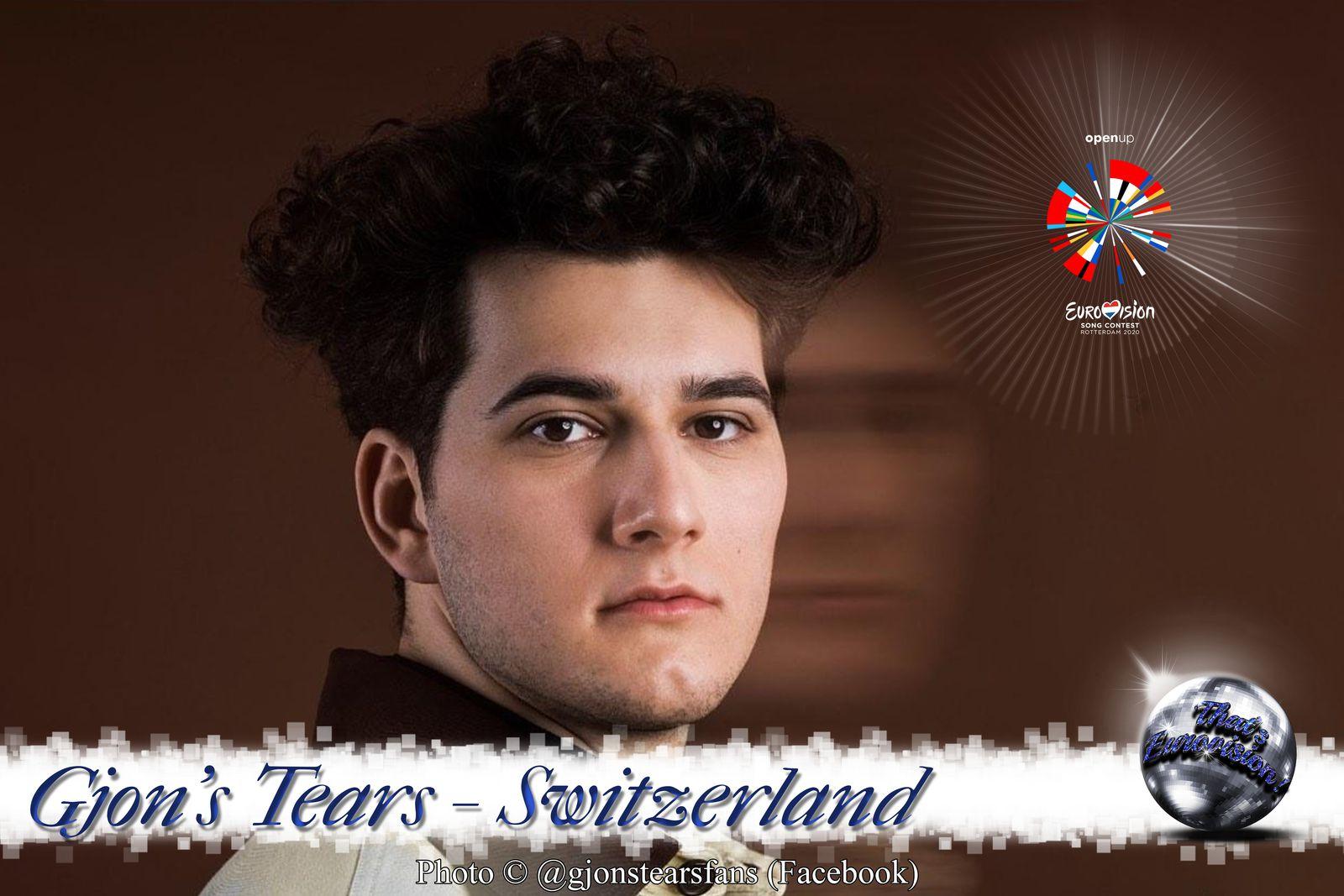 """Switzerland 2020 - Gjon's Tears """"Répondez-Moi"""""""