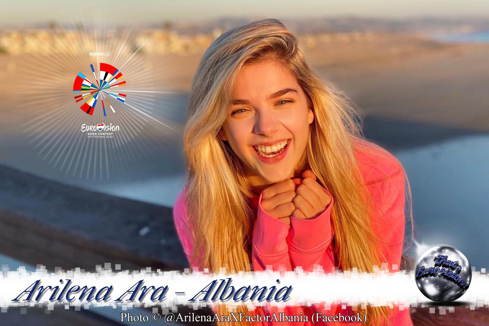 "Albania 2020 - Arilena Ara ""Fall From The Sky"""