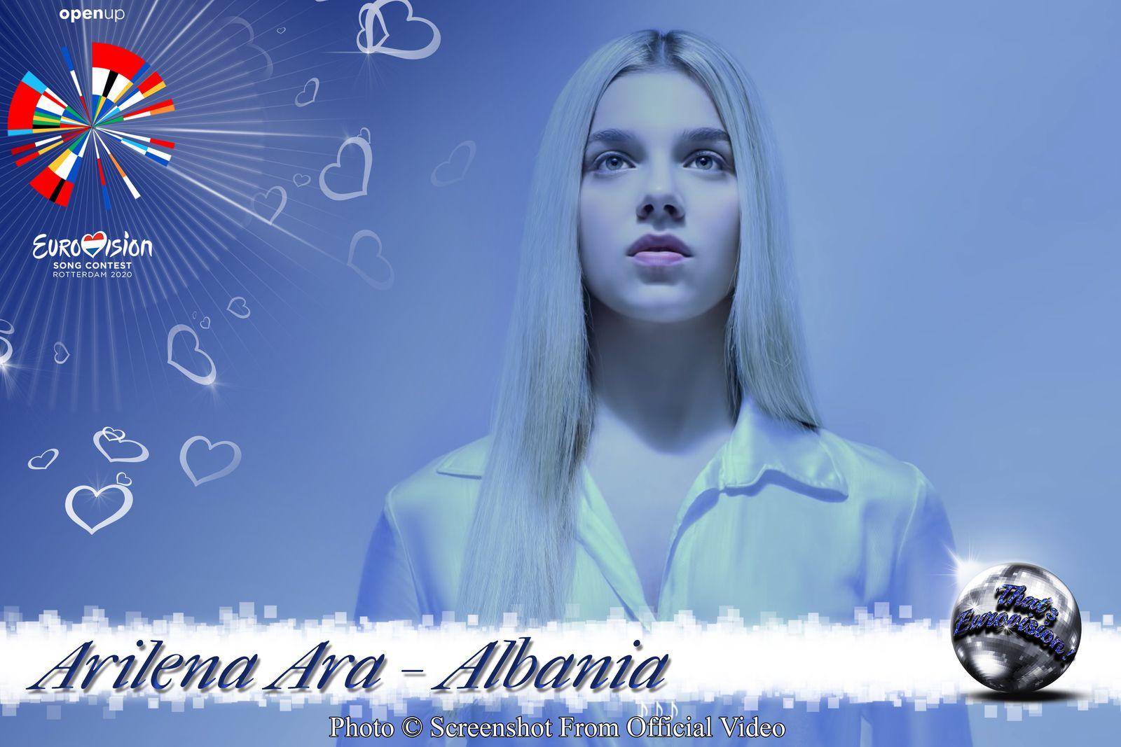 Albania 2020 - Arilena Ara - Fall From The Sky