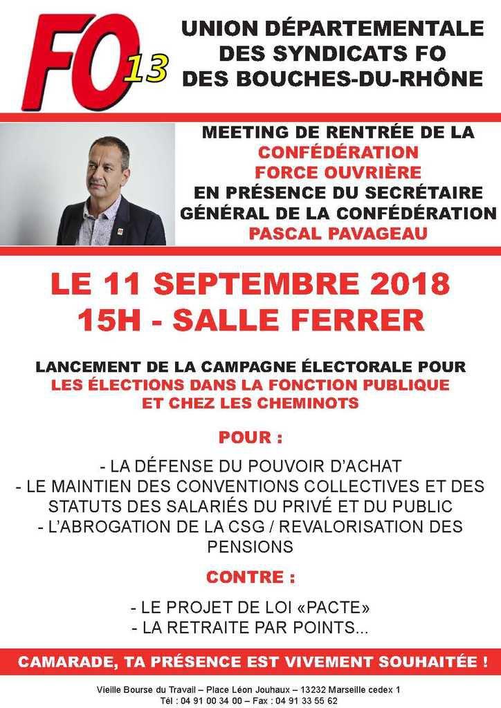 MEETING DE L'UD 13