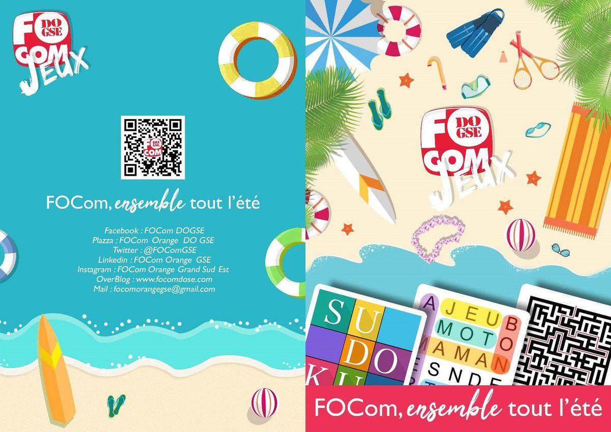 FOCom GSE, Les jeux de l'été !!!