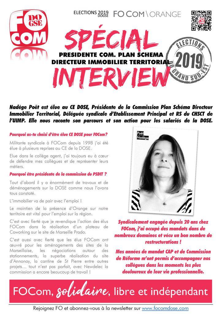 Spécial Interview : La Présidente de la Commission PSDIT