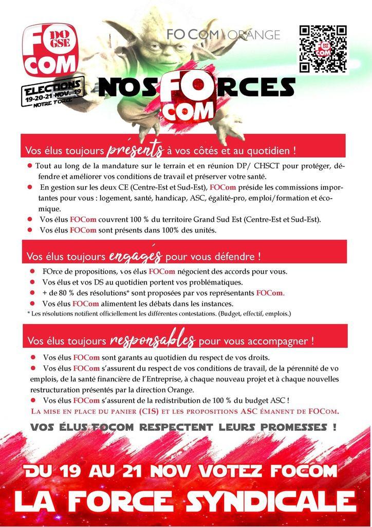 Nos Forces  !