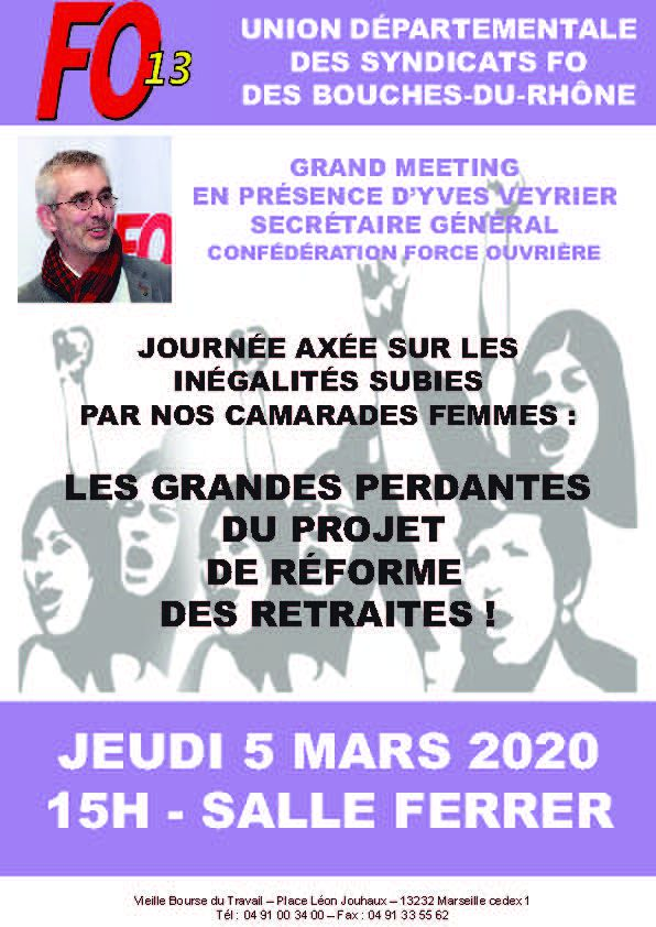 Meeting du 5 Mars Marseille