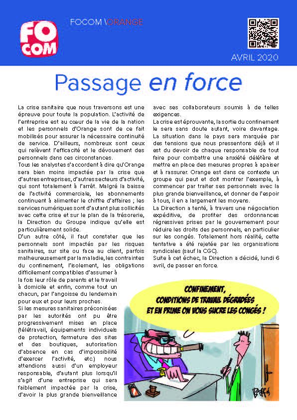 Passage en force