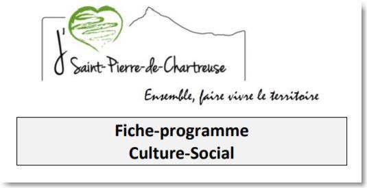 Fiche Projet CULTURE SOCIAL 2020-2026