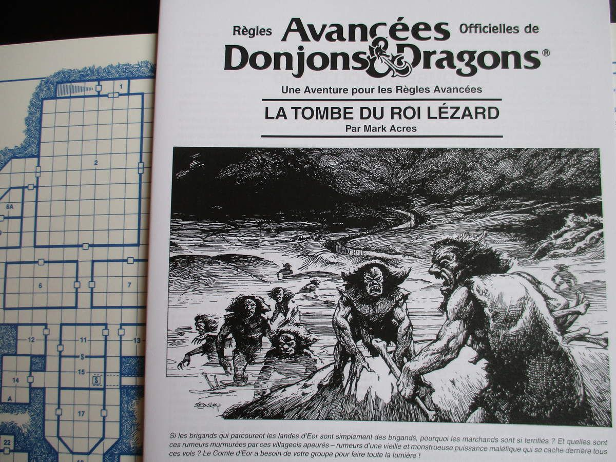 AD&D module I2: La tombe du roi lézard