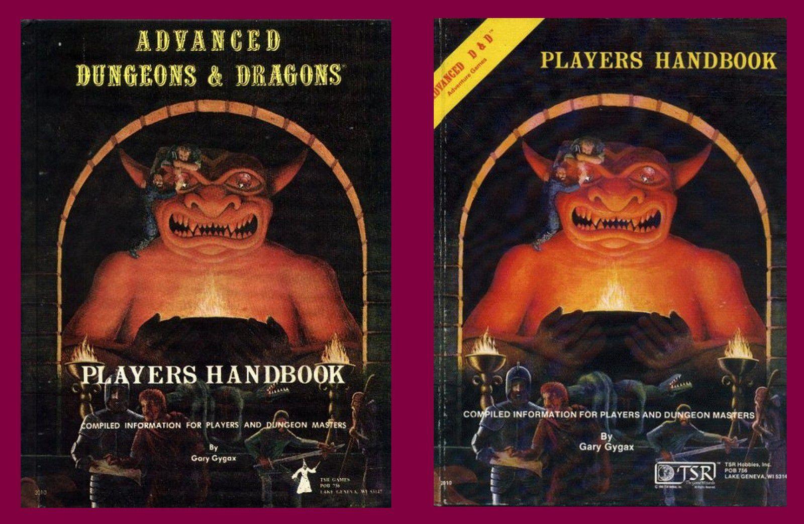 Les deux couvertures des premières impressions : à gauche celle des 3 premières impressions, à droite celle des impressions suivantes jusqu'à ce que cette illustration soit remplacée par celle de Easley.