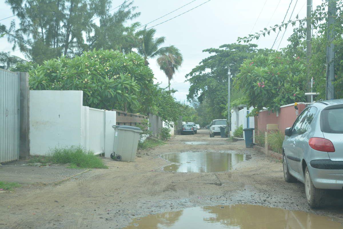 Pendant la tempête tropicale AVA