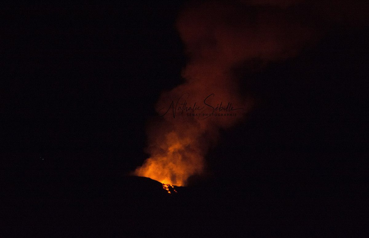 ERUPTION DU PITON DE LA FOURNAISE SEPTEMBRE 2018