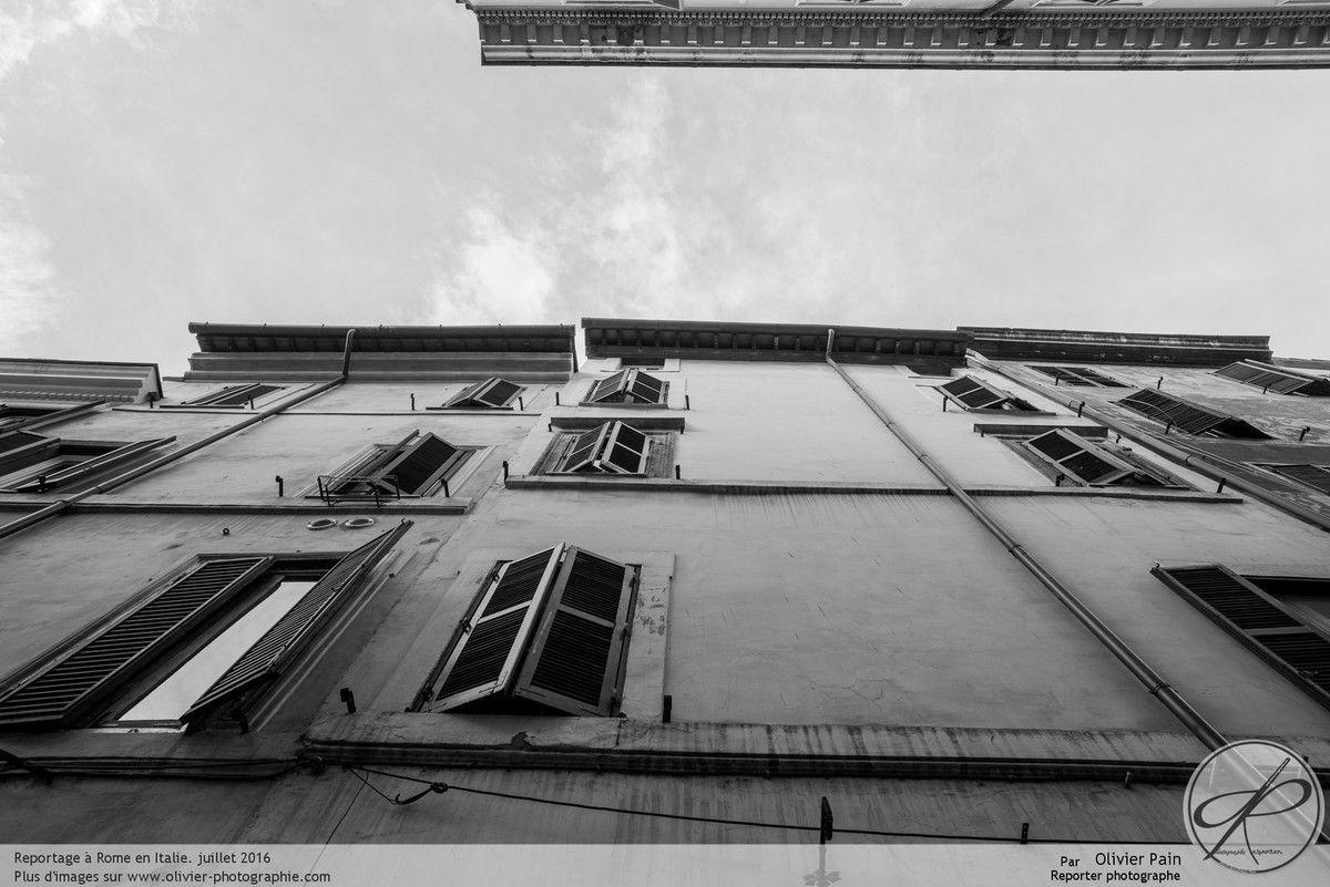 Illustration : comment débuter en photographie, Photographie réalisée à Rome au 17-35mm F/2.8 et D810