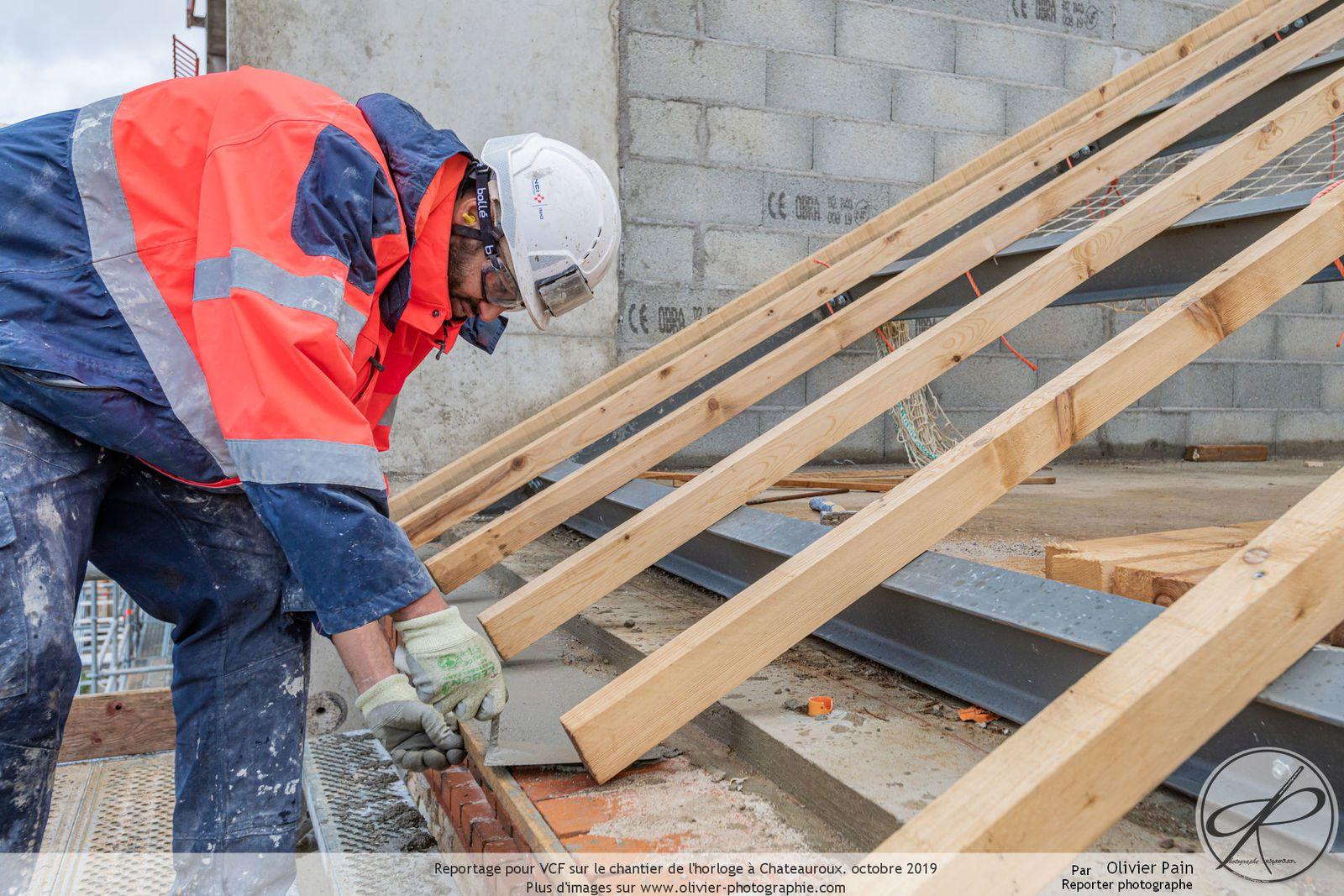 Reportage sur chantier en immersion pour la société SOGEA Centre