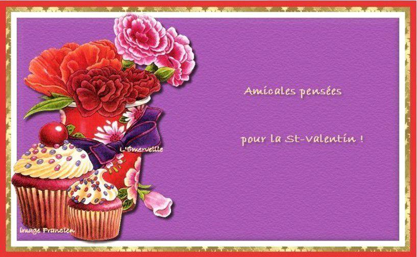 Adorables cartes colorées pour la Saint-Valentin , à imprimer  !