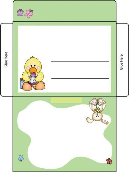 Enveloppe de Pâques
