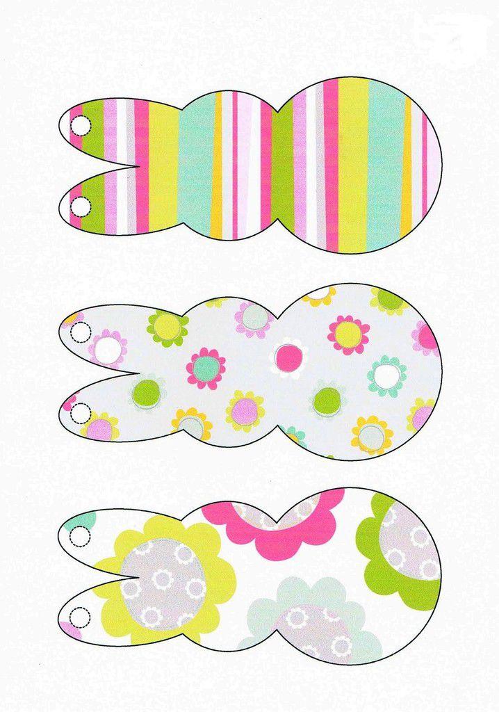 Décoration de Pâques , kit à imprimer et à découper !