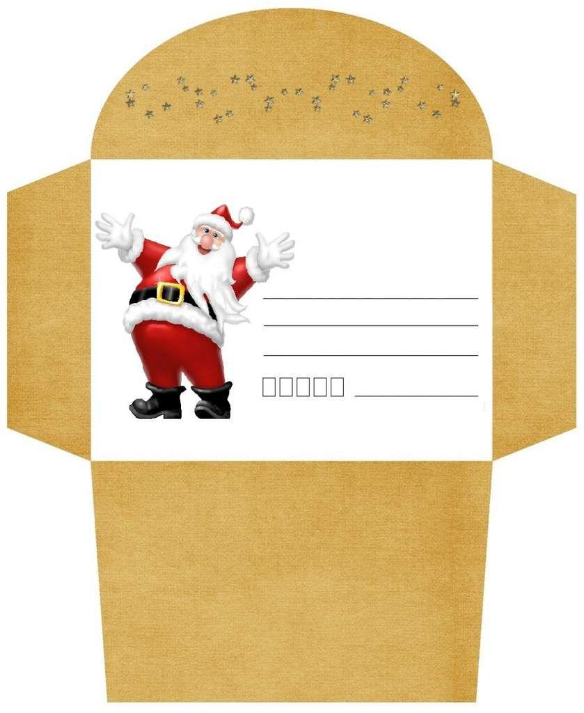 Nouvel Enveloppes de NOEL , à imprimer ! - 1000 idées à faire chez soi YU-94