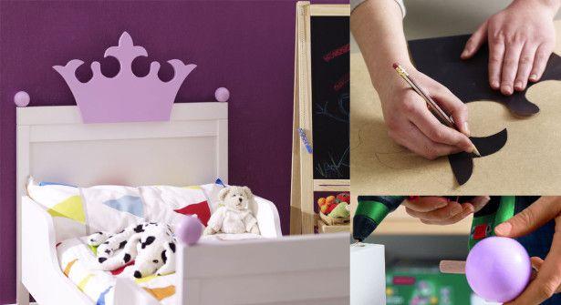 Tuto bricolage : réaliser un lit de PRINCESSE pour sa fille , en suivant son pas à pas en images gratuits !