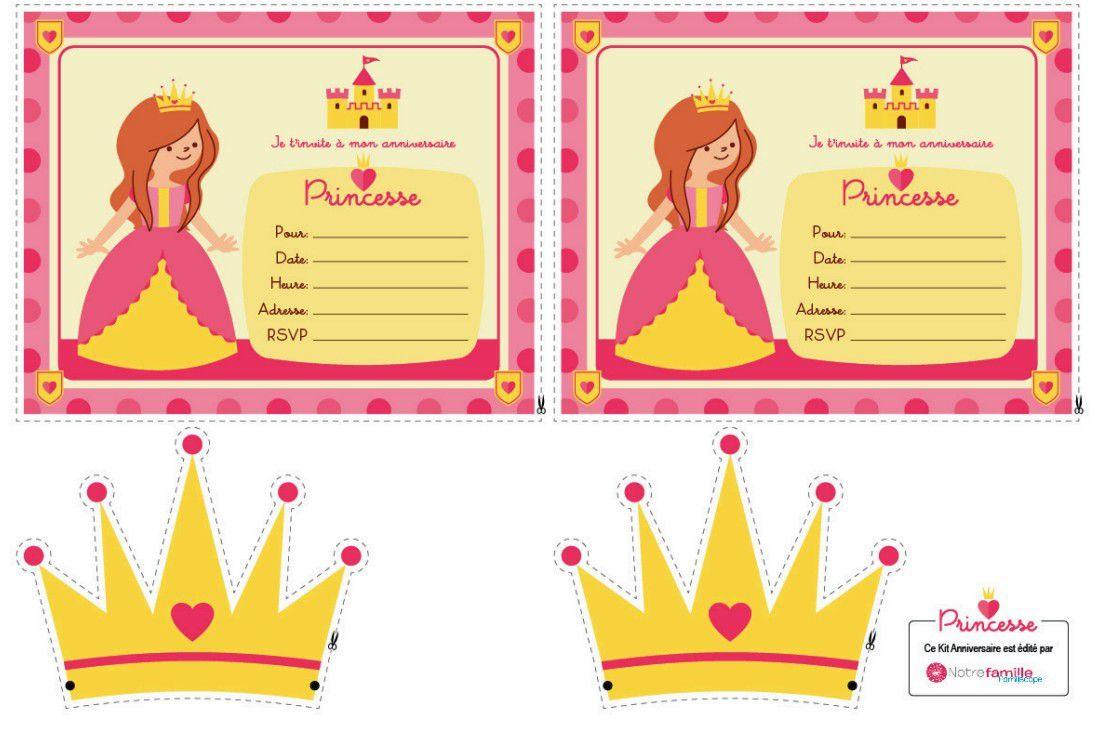Cartes d'invitation et couronnes