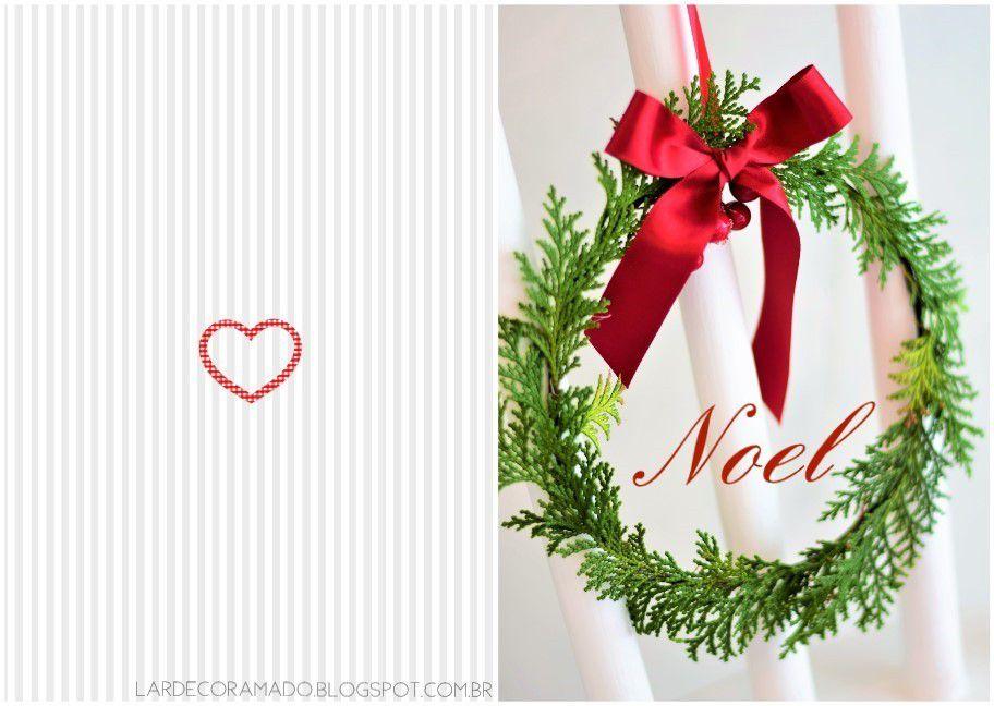 Cartes de Noël , à imprimer gratuitement !