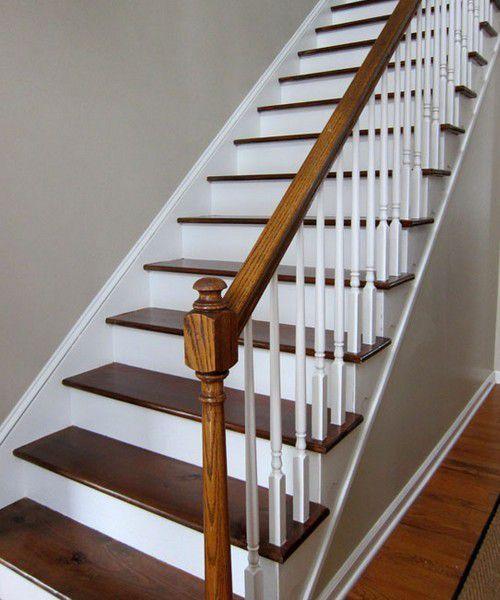 DIY bricolage : comment peindre un escalier rapidement , en suivant le pas à pas en images gratuits !