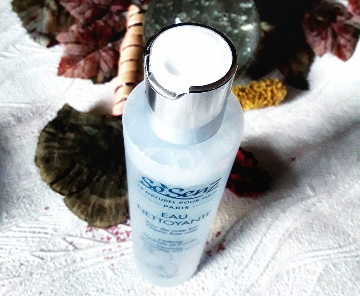 SoSenz eau nettoyante