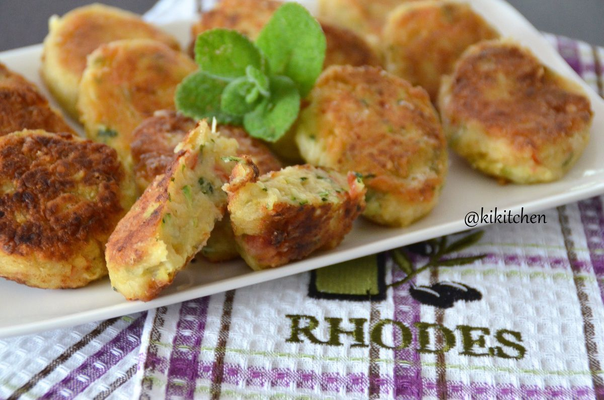 Pitaroudia - Chick Pea Fritters from Rhodes