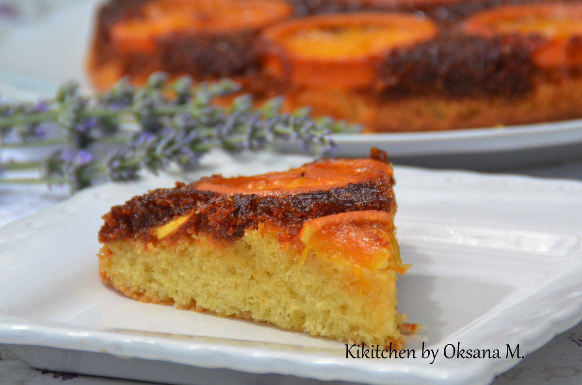 Upside-Down Orange & Almond Cake