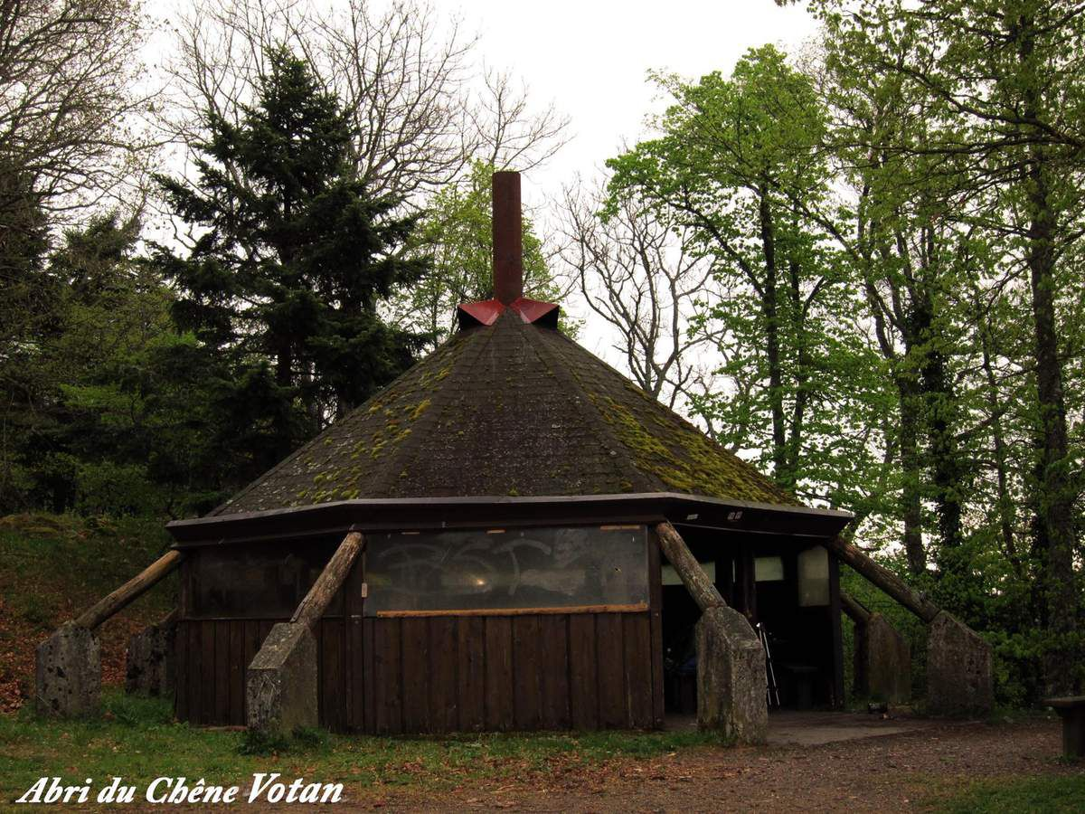 Mardi 25 avril - Thann, Roche Albert, le camp des Pyramides....